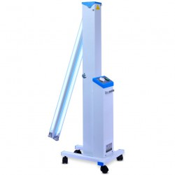 FY® 30DC Mobiele Medische Uv+Ozon Ontsmetting Auto Ultraviolette Lamp Sterilisator Trolley Philips Uv Lampen Buis 30W×2