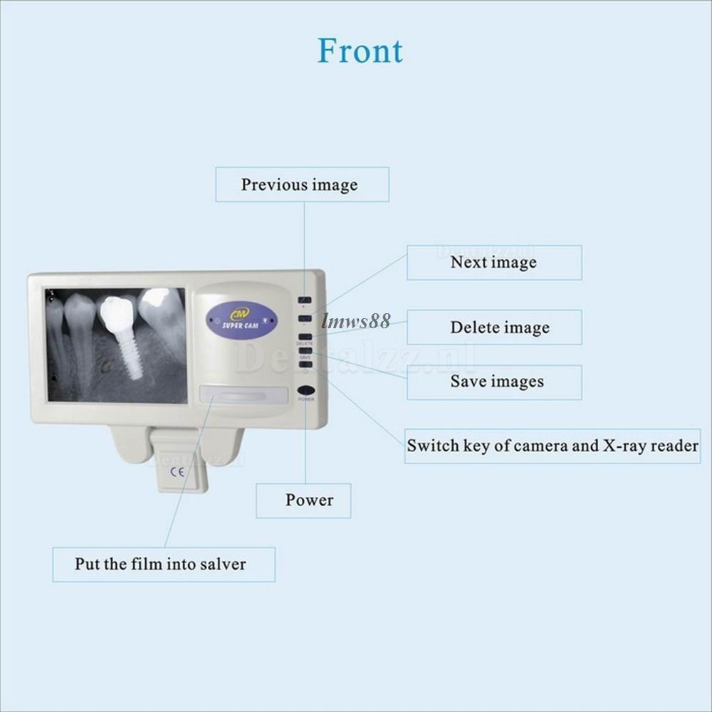 Dental X-ray Film Reader M-169 met 5-inch LCD+Corded Intraoral Camera